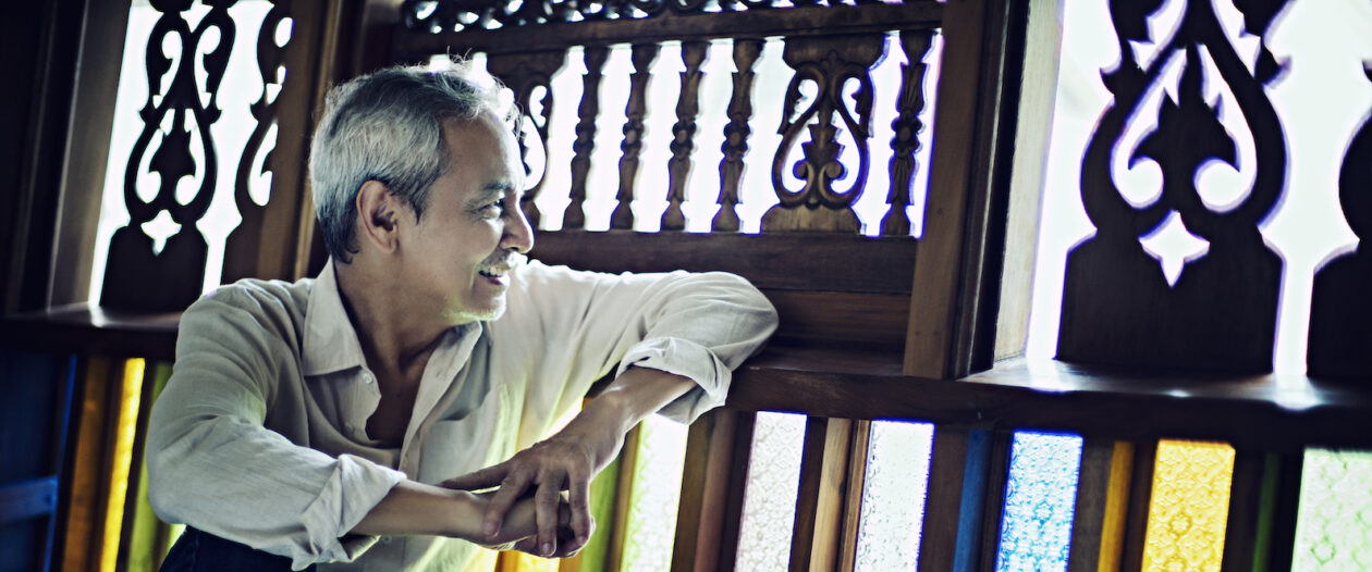 Writing on Air by Jim Paredes